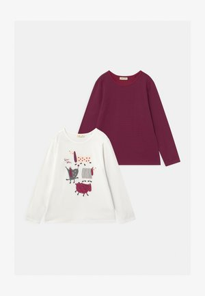 2 PACK - T-shirt à manches longues - snow white