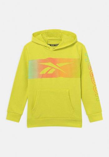 RAINBOW VECTOR HOODIE UNISEX - Collegepaita - yellow