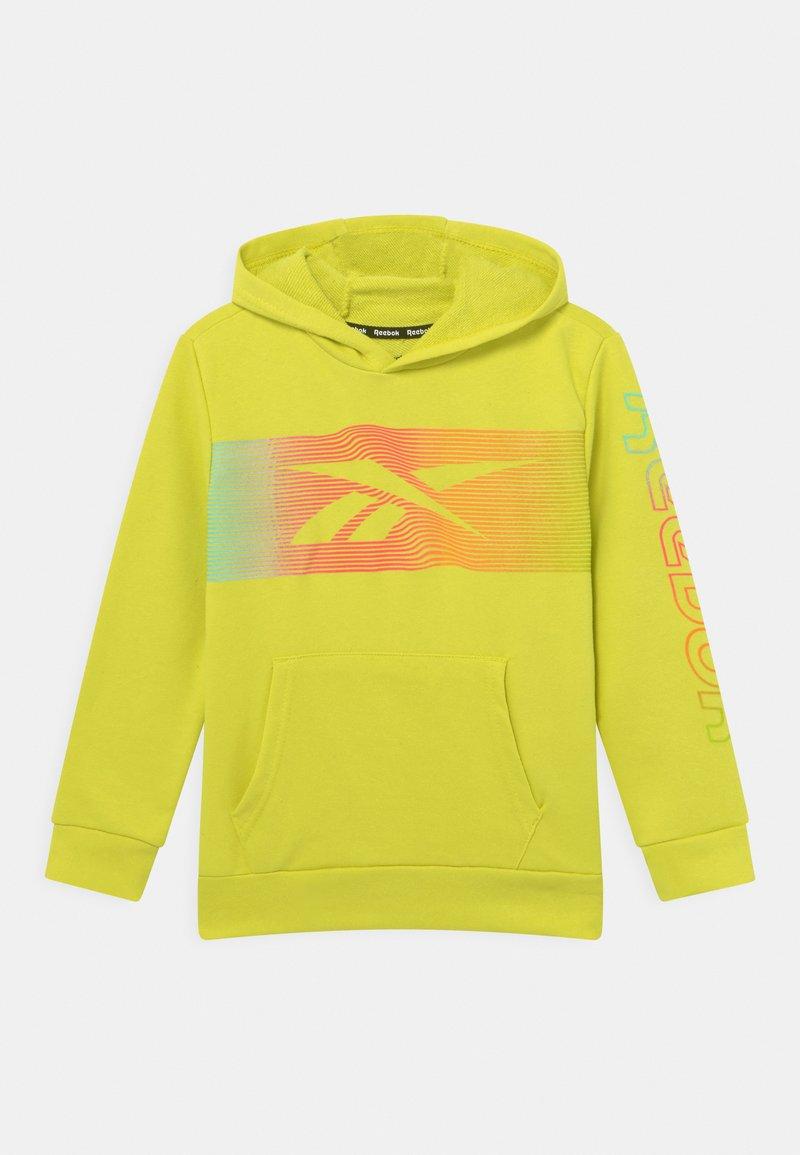 Reebok - RAINBOW VECTOR HOODIE UNISEX - Collegepaita - yellow