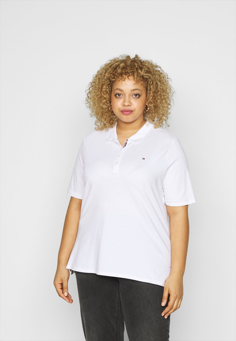 Tommy Hilfiger Curve - ESSENTIAL - Polo shirt - white