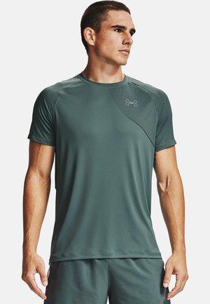 Print T-shirt - lichen blue