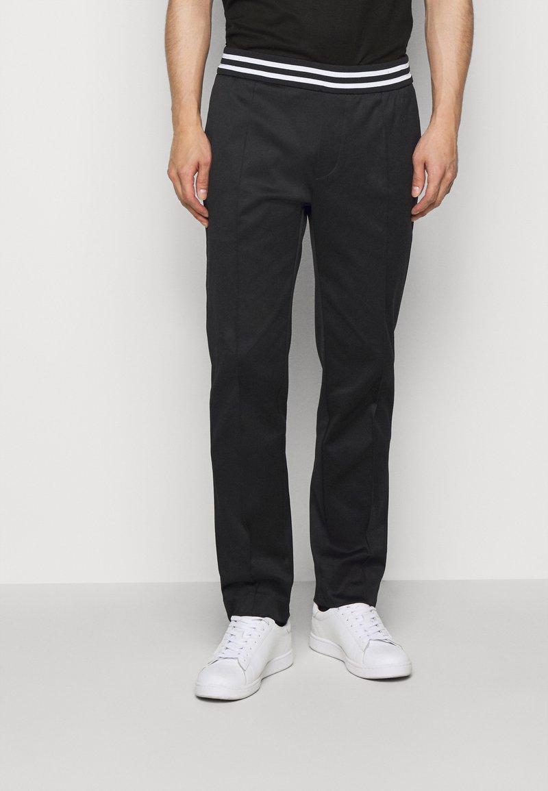 Emporio Armani - Kalhoty - black