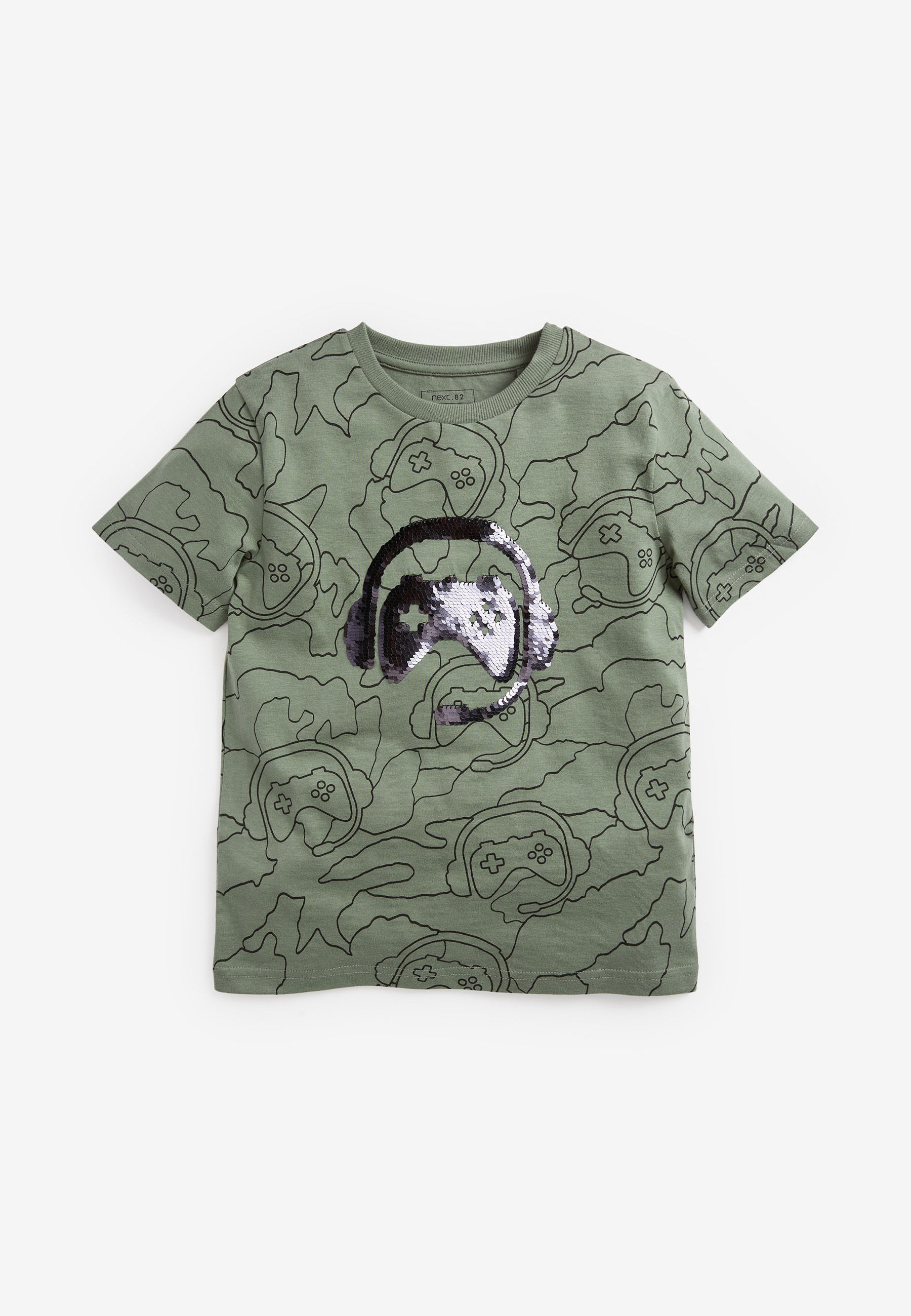 Kinder FLIPPY SEQUIN GAMING  - T-Shirt print