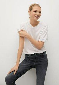 Mango - ISA - Jeans Skinny Fit - open grijs - 3