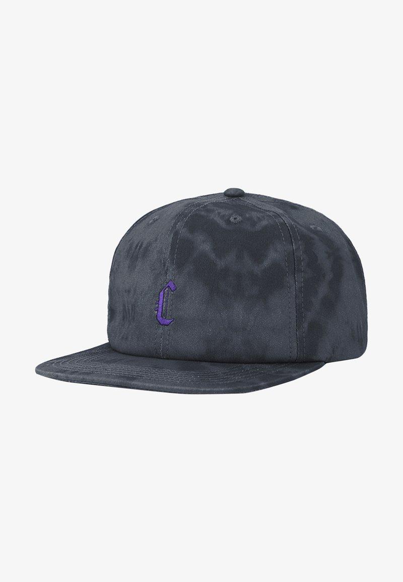 Cayler & Sons - Cap - black tiedye/purple
