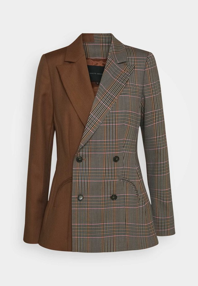 JENSEN  - Short coat - brown