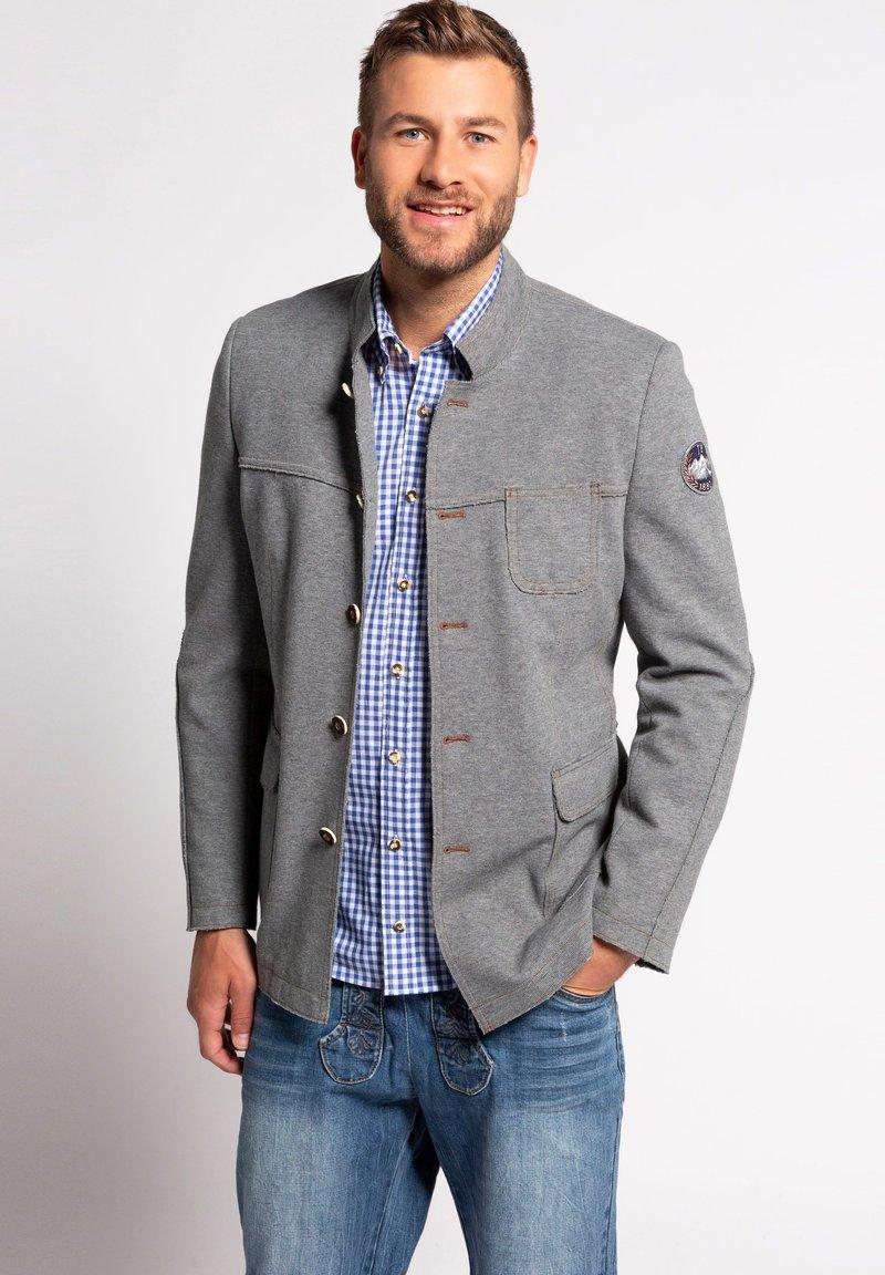 JP1880 - Summer jacket - gris chiné