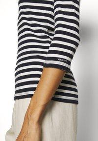 GANT - Long sleeved top - evening blue - 5