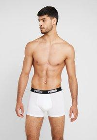 Puma - BASIC 2 PACK - Pants - white / black - 1