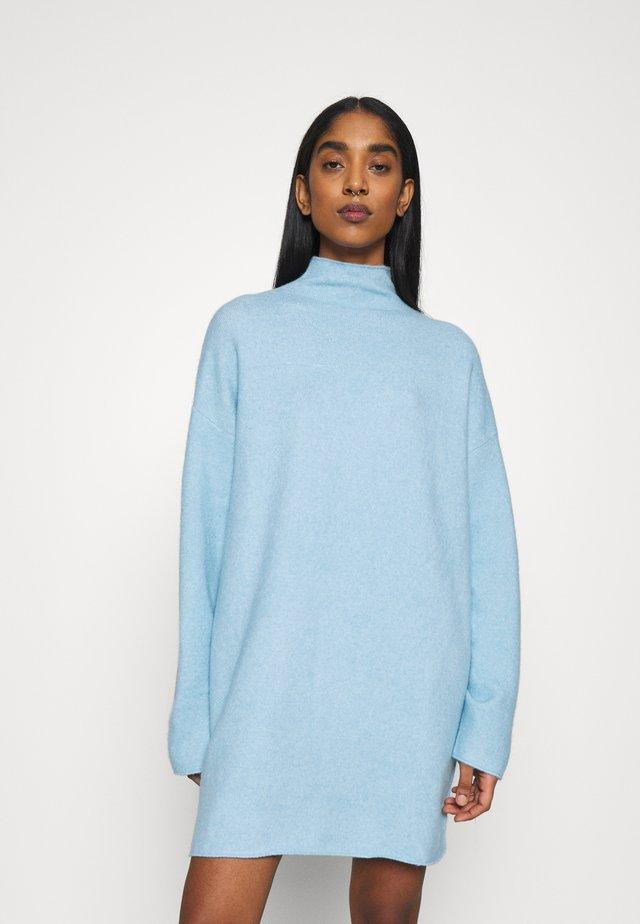 TUNIC - Sweter - blue light melange