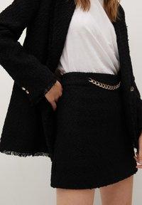 Mango - HARRIET - Mini skirts  - zwart - 3