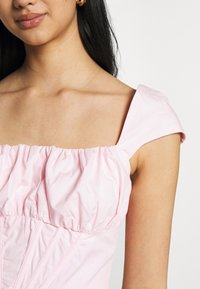 Missguided - RUCHED BUST CORSET TOP - Blouse - pink - 4