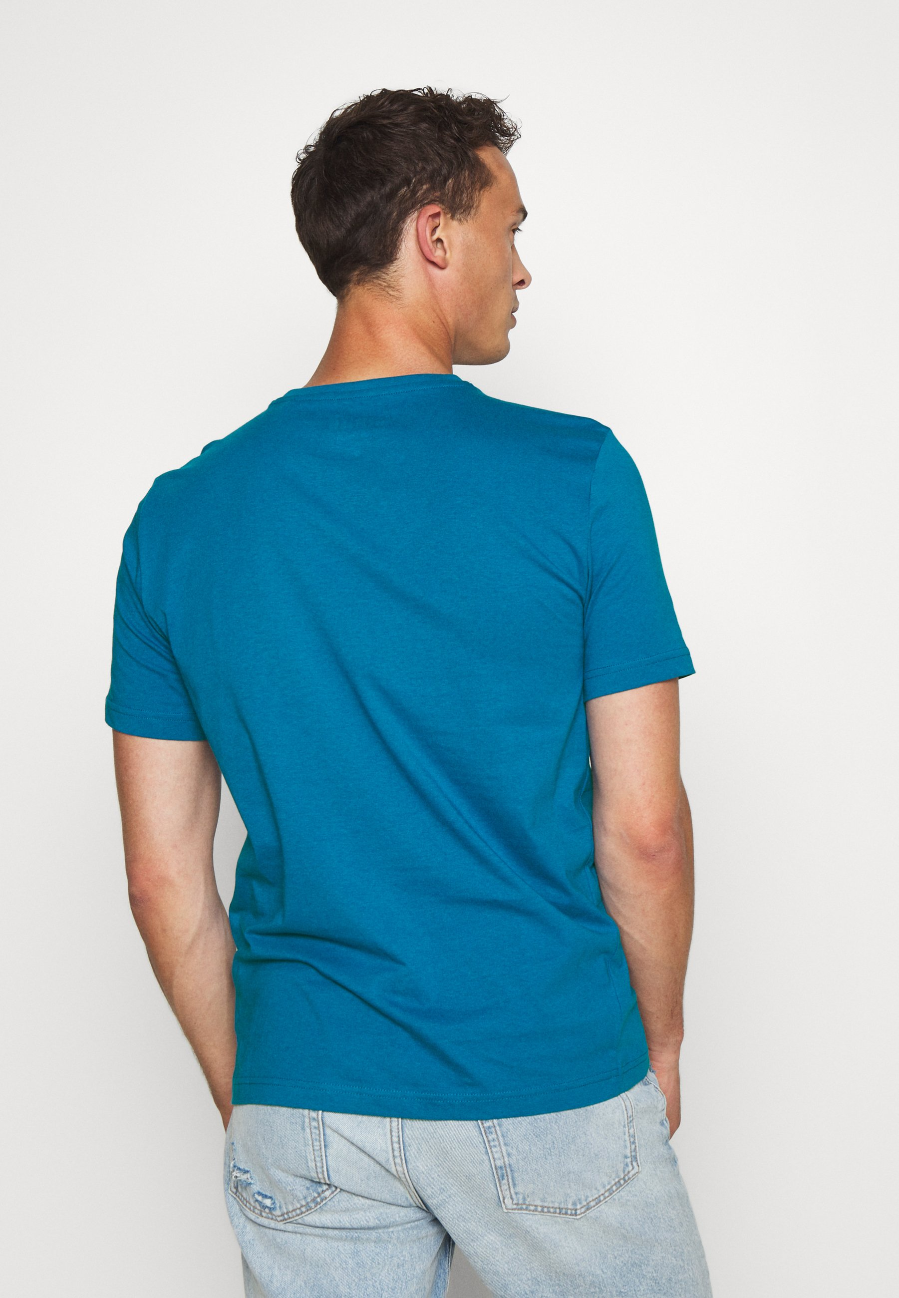Mustang ALEX  - Print T-shirt - mykonos blue 6Sr1o