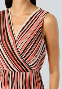 Alba Moda - Day dress - rot/koralle/weiß - 3