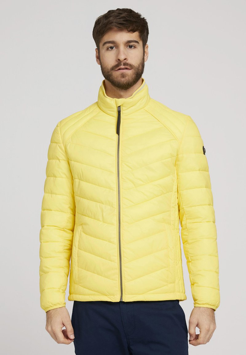 TOM TAILOR - Light jacket - celandine yellow