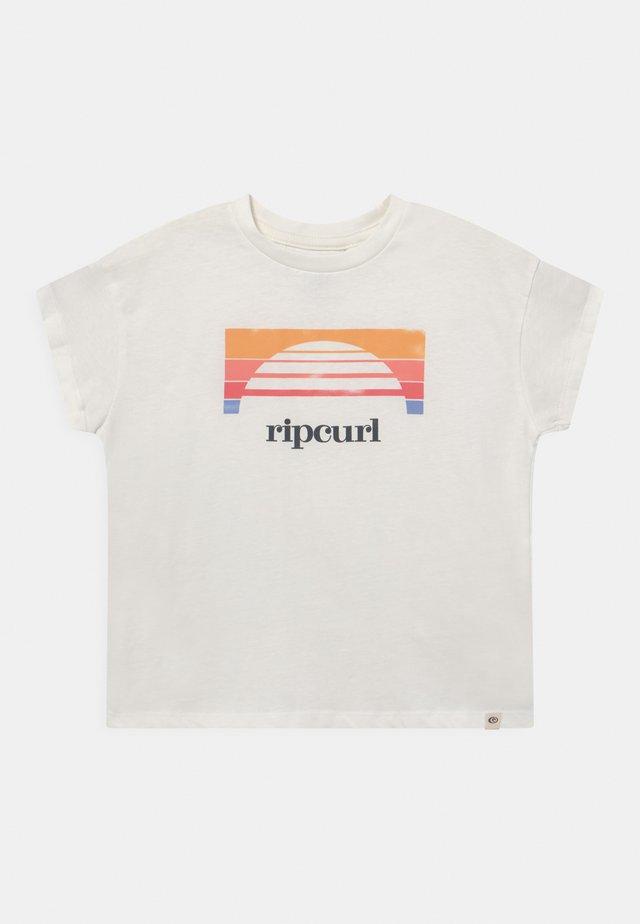GOLDEN STATE GIRL - T-shirt print - bone