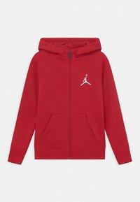 Jordan - JUMPMAN FULL ZIP - Zip-up sweatshirt - gym red - 0