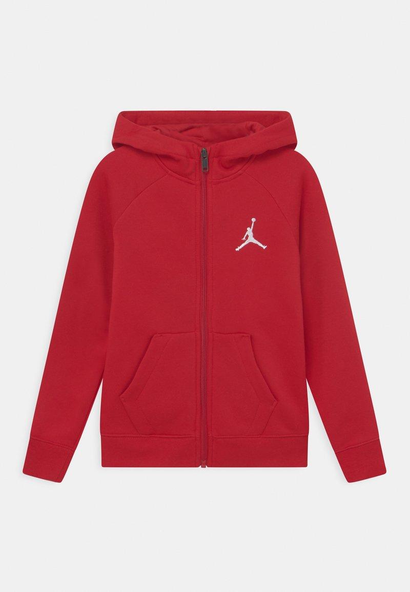 Jordan - JUMPMAN FULL ZIP - Zip-up sweatshirt - gym red