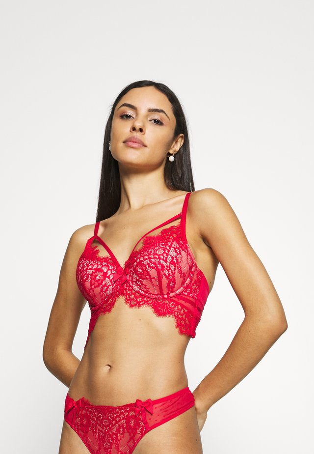 MARILEE - Underwired bra - tango red