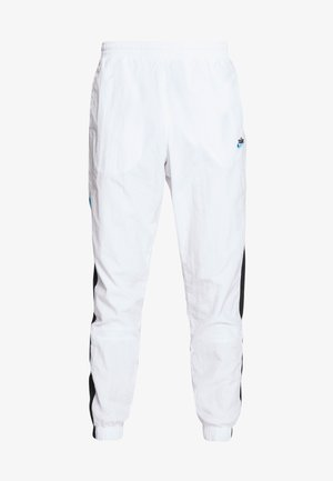 PANT SIGNATURE - Tracksuit bottoms - white/black/pure platinum