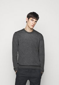 NN07 - TED - Jumper - antractite grey mel - 0