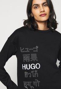 HUGO - NAKIRA - Mikina - black - 4