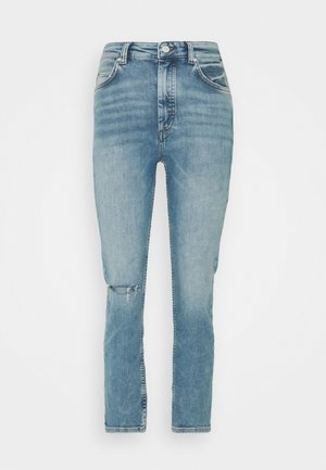TOERE - Straight leg jeans - reddish light blue