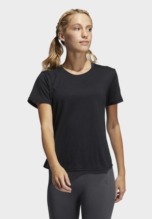 GO TO TEE 2.0 - Basic T-shirt - black/white