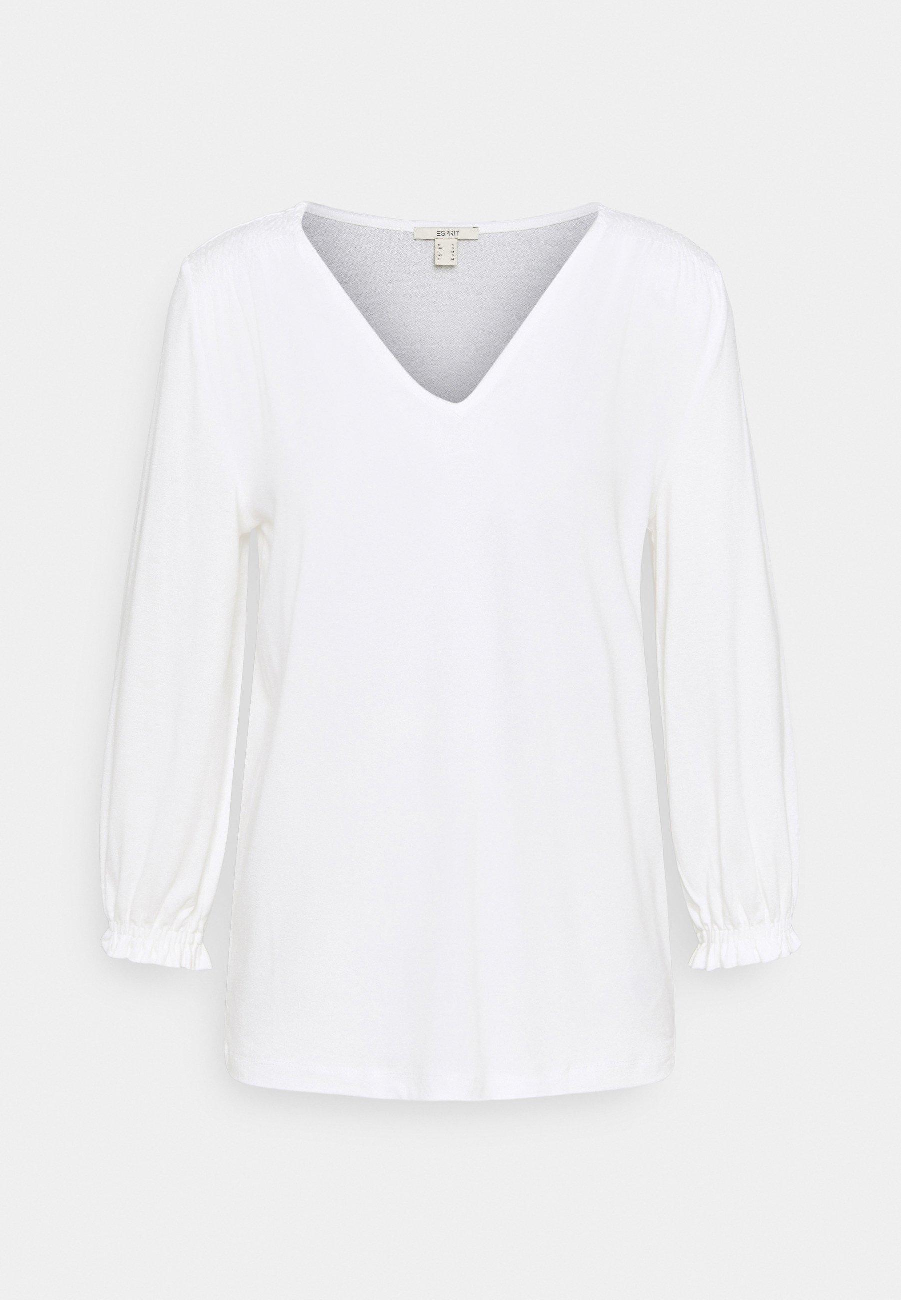 Mujer SMOCK TEE - Camiseta de manga larga