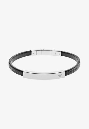 SIGNATURE - Bracelet - black/silver-coloured