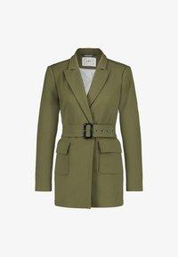 Aaiko - LARISE WO 577 - Short coat - dark olive - 4