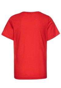 Champion - LEGACY BASICS CREW NECK 2 PACK UNISEX - T-shirt basic - heritage red/new black - 1