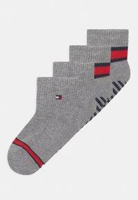 Tommy Hilfiger - FLAG 4 PACK UNISEX - Socks - light grey melange - 0