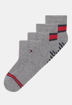 FLAG 4 PACK UNISEX - Socks - light grey melange