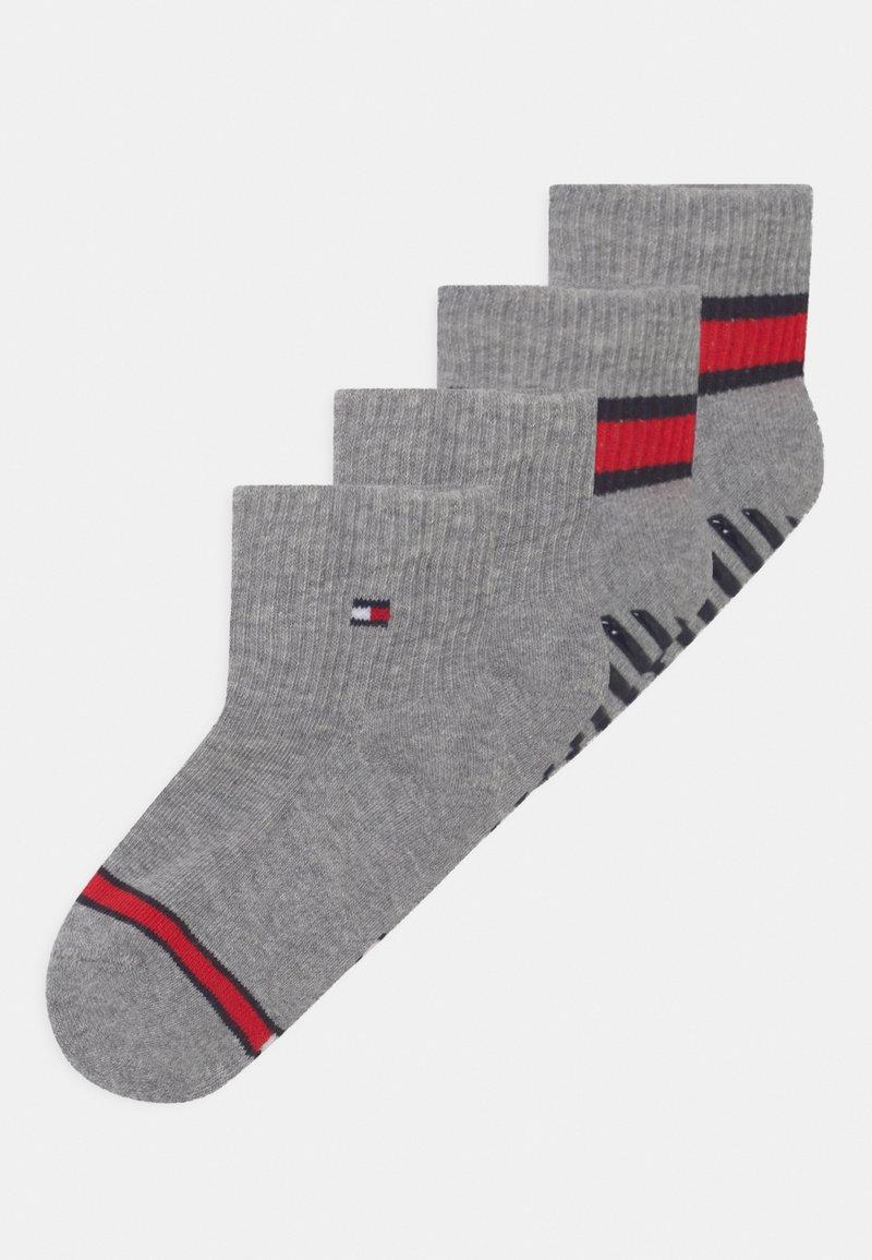 Tommy Hilfiger - FLAG 4 PACK UNISEX - Socks - light grey melange