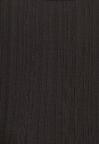 Monki - Top - black dark/purple - 7