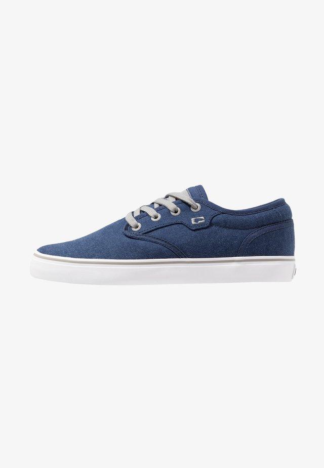 MOTLEY - Skate shoes - blue/grey