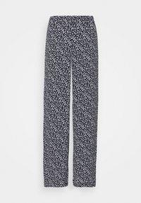 Vero Moda - VMSAGA WIDE PANT - Pantaloni - navy blazer/donna - 0