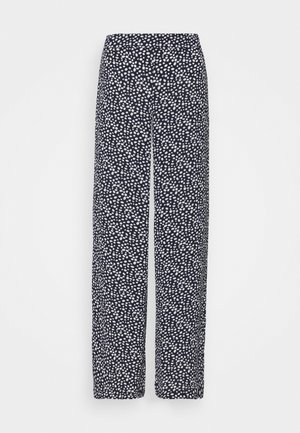 VMSAGA WIDE PANT - Trousers - navy blazer/donna