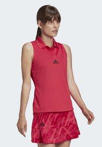 adidas Performance - TENNIS MATCH TANK TOP HEAT RDY - Polo shirt - pink - 1