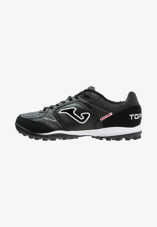 TOP FLEX TURF - Astro turf trainers - black