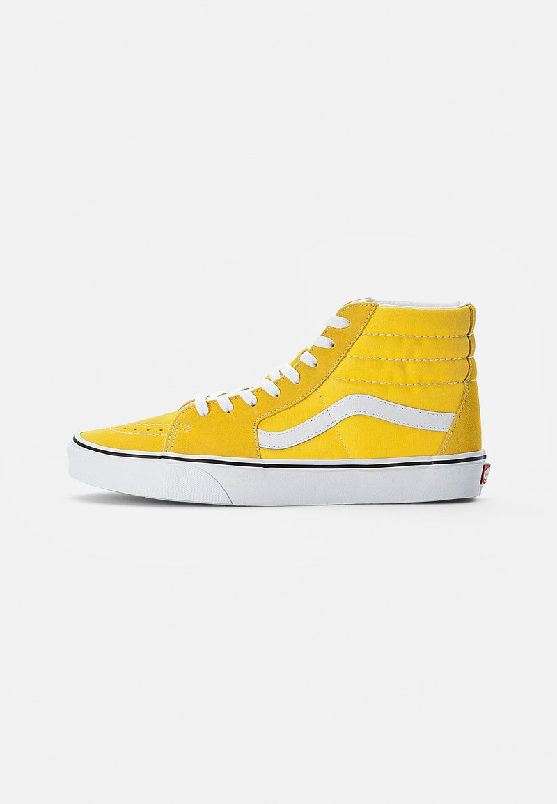 Vans - SK8-HI UNISEX - High-top trainers - cyber yellow/true white