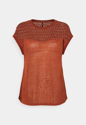 ONLNEW MIX - T-shirt con stampa - arabian spice