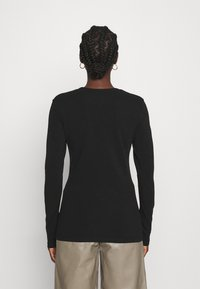 ARKET - LONGSLEEVE - Long sleeved top - black - 2