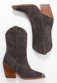 Bronx - NEW KOLE - High heeled boots - asphalt - 3