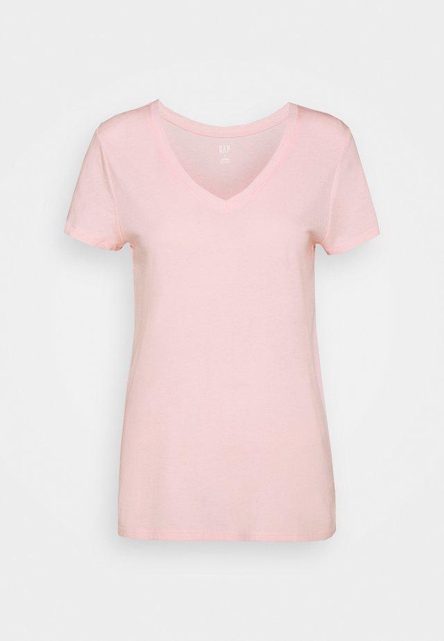 Basic T-shirt - light shell pink