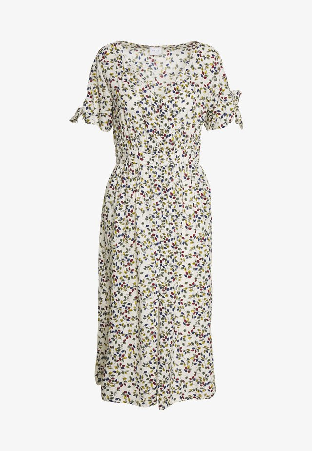 VILARSA LEAF MIDI DRESS - Day dress - sandshell