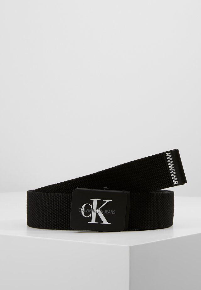 MONOGRAM BELT - Vyö - black