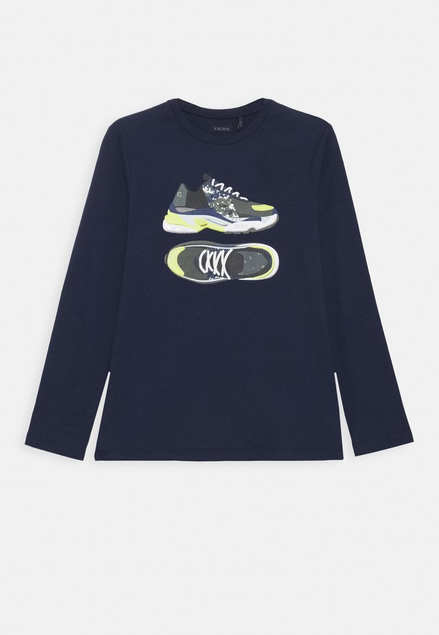 FLUORESCENT SNEAKER - Long sleeved top - indigo