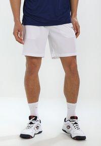 Diadora - SHORT COURT - Sportovní kraťasy - optical white - 0